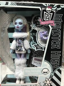 Monster High Monster High Abbey Bominable Daughter Of Th Doll First Wave Retired