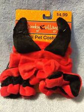 ****SPOOKY VILLAGE**** DEVIL PET COSTUME (HALLOWEEN) ONE SIZE SMALL