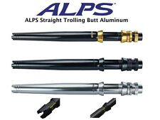 Alps Aluminum Straight Trolling Butt 6-30-50-130Lb Class 3 Colors