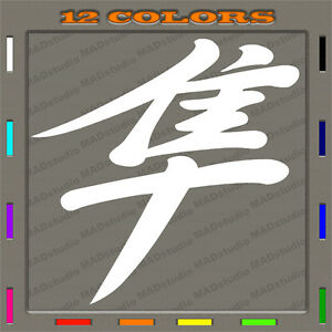 2pc SUZUKI Hayabusa 99-07 logo sticker / decal 12 colors to choose
