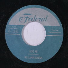 LAMPLIGHTERS: Give Me / Be-bop Wino 45 (repro) Vocal Groups