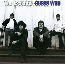 THE ESSENTIAL THE GUESS WHO CD THE GUESS WHO BRAND NEW SEALED