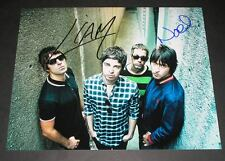 """OASIS PP SIGNED 10""""X8"""" PHOTO REPRO LIAM & NOEL"""