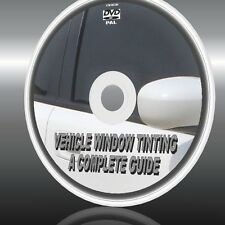LEARN CAR WINDOW GLASS TINTING  HOW TO GUIDE TINT CARS/VANS/TRUCKS/HOMES NEW DVD