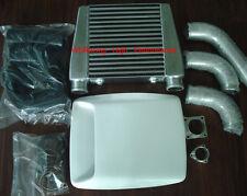 Top mount intercooler kit for Nissan Patrol TD42 diesel 99-03 with bonnet scoop