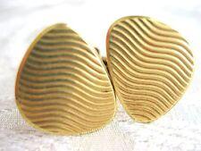 MOD ANTIQUE EUROPEAN 585 14K SOLID YELLOW GOLD UNISEX CUFFLINKS FULLY MARKED