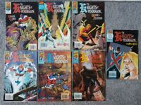 marvel the knights of pendragon #1 - 8
