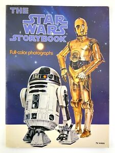 1978 The Star Wars Storybook Full-color Photographs Scholastic Book 521B