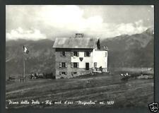 Rifugio Magnolini ( Piano della Palù / Bergamo ) - cartolina viaggiata nel 1963