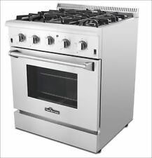 Thor Kitchen 30'' 4burner Professional Stainless Steel Dual fuel Range Hrd3088U