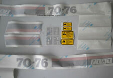 Serie Decalcomania-Adesivi Per Trattore Fiat 70-76...