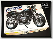Aoshima Model kit 1/12 Kawasaki Zephyr Bike