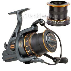 Penn Surfblaster III Longcast 8000 LCEU Sea Fishing Fixed Spool Reel Mk3 & Spool