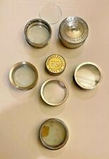 Vintage Watch Movement Holders  Waltham  Rockford & Elgin  7 Total  All Antique