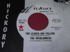 The Overlanders: The Leaves Are Falling / Shanghai Rooster 45