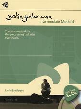 JustinGuitar.com Intermediate Method Guitar TAB Music Book/2CDs