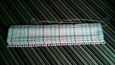 Laura Ashley fabric striped Roman blind