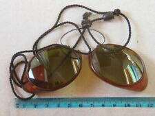 Antique outdoor sun glasses with the side protection