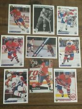 MONTREAL CANADIEN's NHL Hockey PLAYER Greats 1987 1992 FREE SHIPPING CAN USA