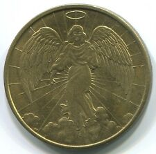 T256 Guardian Angel, Good Luck pocket lucky token, personal protection coin