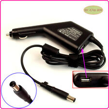 Car DC Power Adapter Charger + USB Port for HP/Compaq 519329-001 609940-001