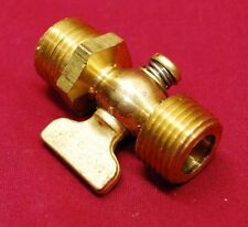"1/2"" Npt Brass Drain Pet Cock Hit Miss Gas Engine Motor Fairbanks Maytag"