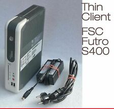 MINI PC FUJITSU FUTRO S400 RS-232 USB 2.0 CF-CARD 256MB RAM & MIT POWER SUPPLY #