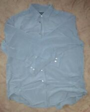 DKNY Long sleeve Shirt - blue Mens size XL