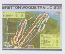 "Ski Trailmap Poster "" Bretton Woods 1979  Mt Washington New Hampshire NH """