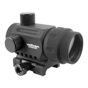 New Valken Outdoor Red Dot RDA20 Reflex Sight Site Optic Black w Mount