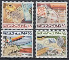 Papua-Neuguinea 1985 ** Mi.504/07 Postal Service Postdienst [sq6017]
