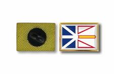 pins pin's flag national badge metal lapel hat canada newfoundland and labrador