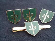 29 COMMANDO artiglieria reale GEMELLI, badge, Tie Clip Set Regalo