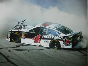 Kevin Harvick signed #4 FREAKY FAST SHR Ford VICTORY BURNOUT Nascar 8x10 Photo