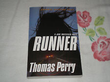 RUNNER by THOMAS PERRY   *Signed*  -ARC- -JA-