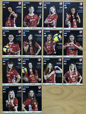 14 AK SC Potsdam Volleyball Frauen Autogrammkarten 2021-22 original signiert
