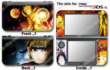Naruto Amazing Ninja Vinyl Skin Sticker Cover Decal #1 for NEW Nintendo 3DS XL