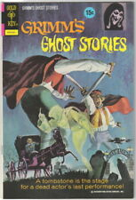 Grimm's Ghost Stories Comic Book #7 Gold Key 1973 VERY FINE-