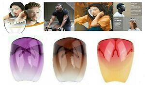 SALE 3 Pcs Face Shield Glasses Face Mask Transparent Reusable Visor AntiFog Dust