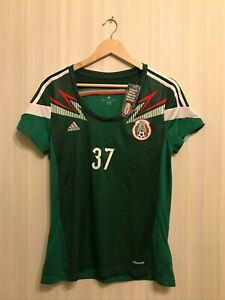 Women's Mexico 2012/2013/2014 Home Ladies L shirt jersey maillot soccer football