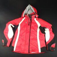 Killy AWT Womens UK 14 Ski Snowboard Jacket Winter Snow Red White Recco Coat