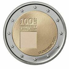 NIEUW SPECIALE 2 EURO SLOVENIE 2019 UNIVERSITEIT VAN LJUBLJANA  BIJ JOHN