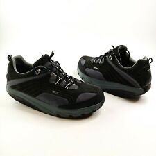 MBT Chapa GTX Gore-Tex Walking Toning Rocker Comfort Shoes Men's Sz 14 Black EUC