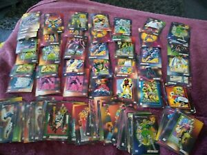 Collection Of -109-1992 Marvel Trading Cards