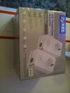 Zyxel Hd Powerline Adapter Pla4211. Brand new sealed. 500mbps