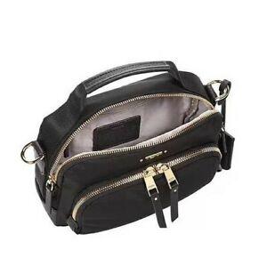 NWT TUMI VOYAGEUR CROSSBODY BAG WOMEN'S  BLACK SIZE 20X15X7 CM US FREESHIPPING