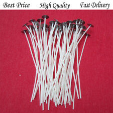 100 x 15cm High Quality Waxed Wicks DIY Candle Making Chritmas with Sustainers