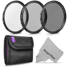 58MM Altura Photo Professional Photography Filter Kit (UV, CPL, ND4)