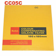 Kodak Colour compensating gelatin filtro. 180x180 mm. cc05c
