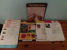 Vintage 1970's EVEREADY Batteries Catalog, Ads, Fact Sheets, Prices